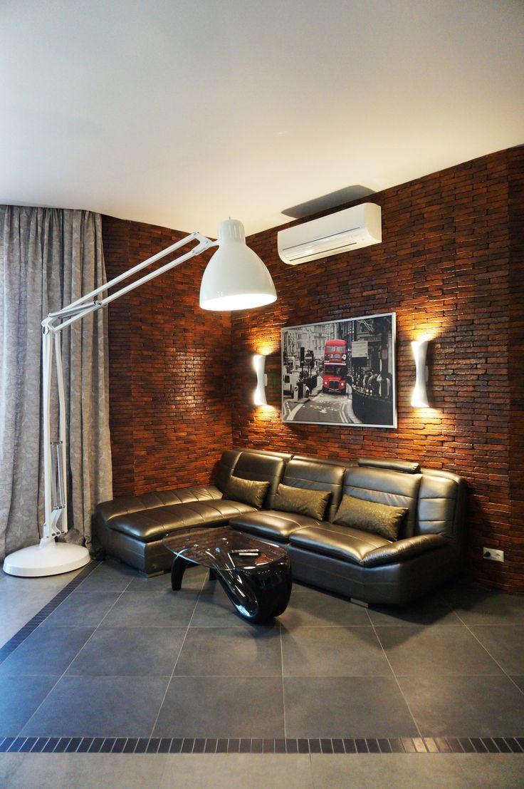 """""""С высоты птичьего полета"""" Квартира на 27 этаже - Освещение в современном стиле…"""