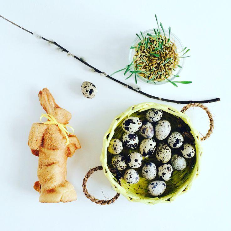 Basket & eggs