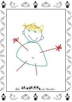 Cahier du bonhomme charivari l 39 cole maternelle dessin bonhomme cahier de vie - Le dessin du bonhomme ...