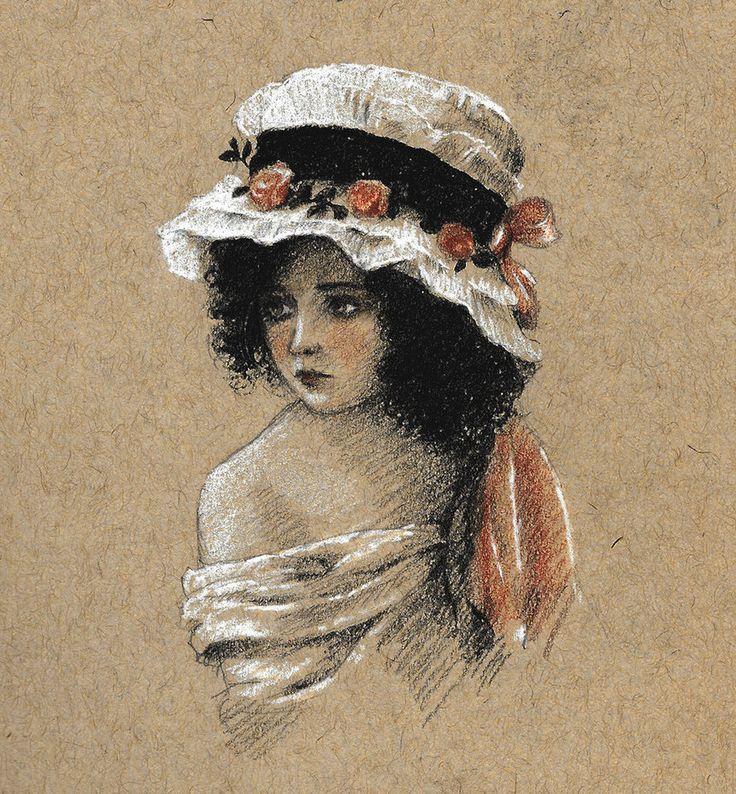Signorinella by Lasarasu.deviantart.com on @DeviantArt
