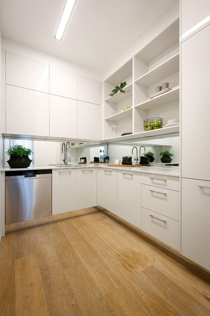 The Block 2016: Apartment Five - Kim & Chris - Doors in ULTRAGLAZE Royal Oyster