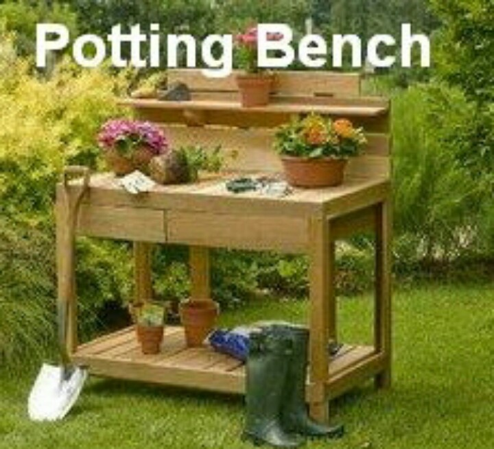 17 Best Images About Potting Bench On Pinterest Gardens Potting Bench Plans And Backyards