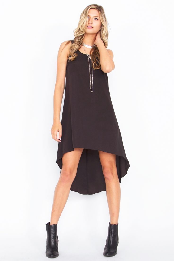 HIGH AND LOW TIMES DRESS-DS-DR4021