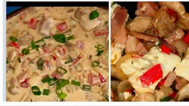 Creamy Garlic Chicken & Philly Cheese | Slow Cooker Central