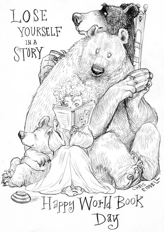 Chris Riddell: World Book Day