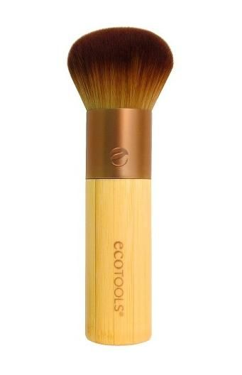 11 Cheap Makeup Brushes to Buy ASAP - Perfect for bronzer or setting your makeup with a loose powder, this dense brush will give you all the coverage you want in one soft, wooden brush. (EcoTools Domed Bronzer Brush, $7.59, target.com)