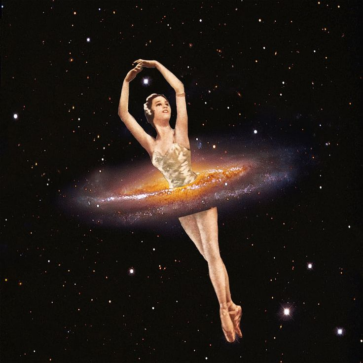 Cosmic Ballerina, Part 1 via Eugenia Loli Collage. Click on the image to see more!