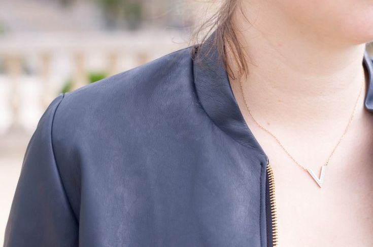 veste en simili cuir Atelier Svila x Frou-Frou