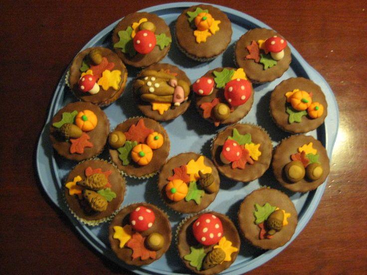 cupcakes herfst