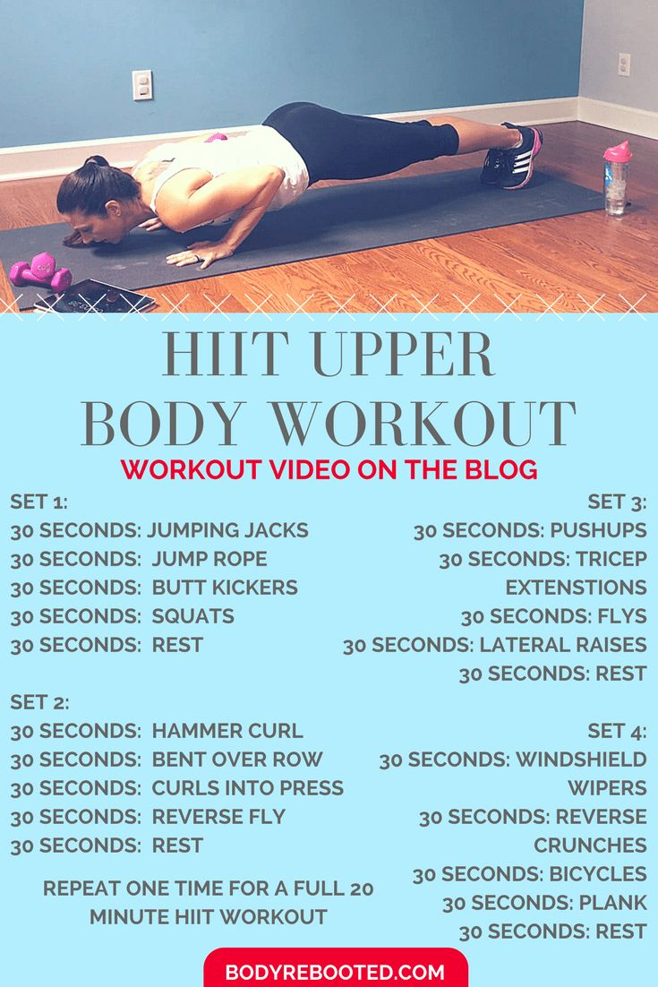 This HIIT workout is giving me incredible results! Try it out and watch the video on the blog: BodyRebooted.com