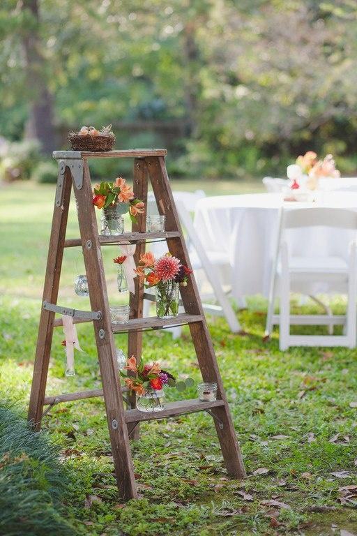 70 Best Vintage Ladders In Weddings Images On Pinterest