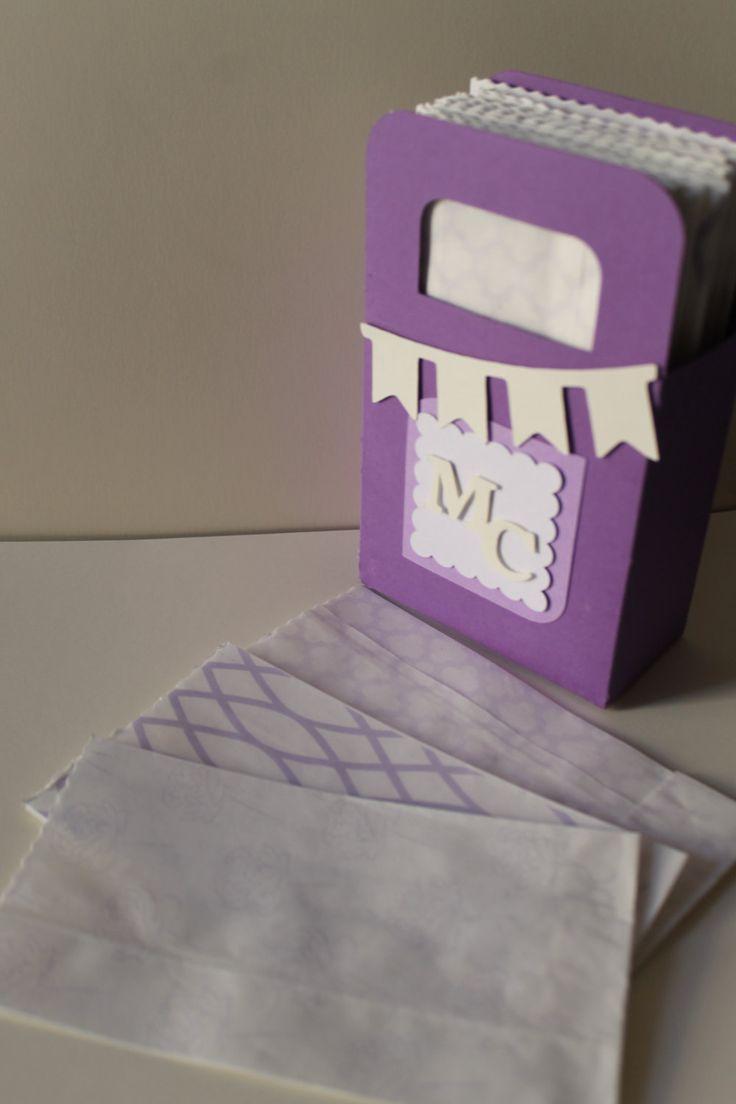 Set di 60 kraft paper bags con scatola espositore / sacchetti carta kraft confettata possibilità di personalizzazione. custom packaging di PickaPack su Etsy