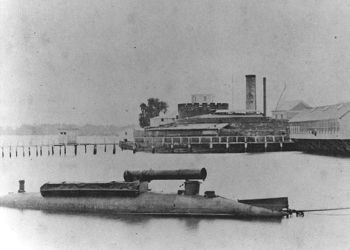 Civil War Submarine Monitor