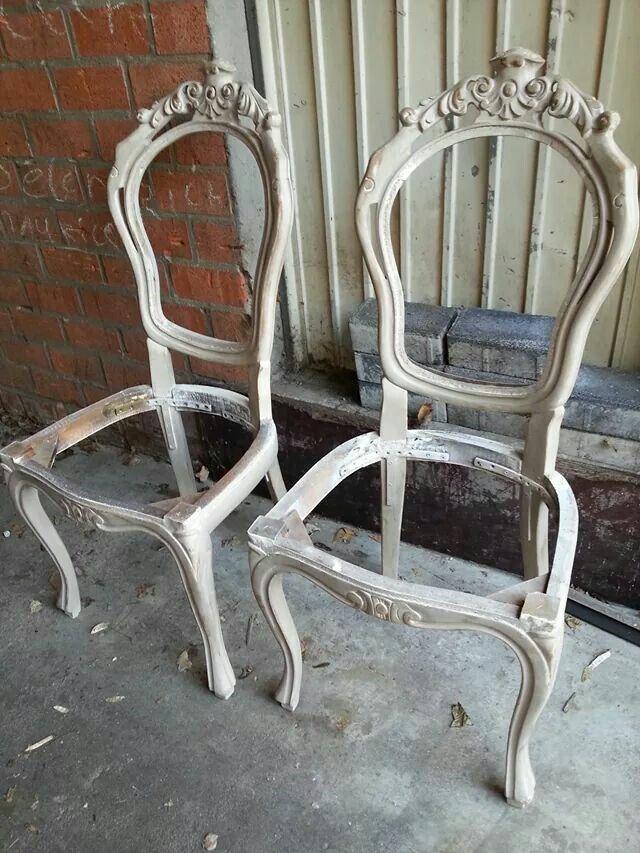 25 beste ideen over Stofferen van stoelen op Pinterest