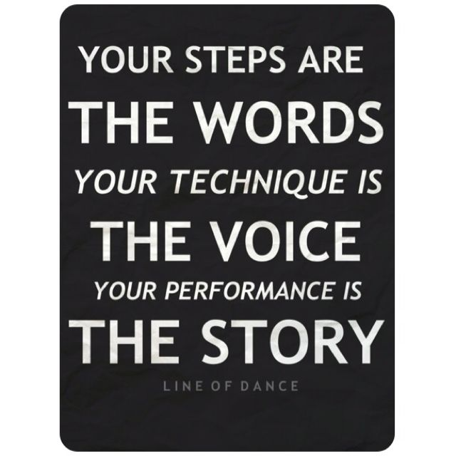 Your performance is the story