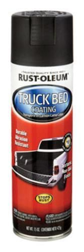 Rust-Oleum 248914 Automotive Truck Bed Coating Spray, 15 Oz