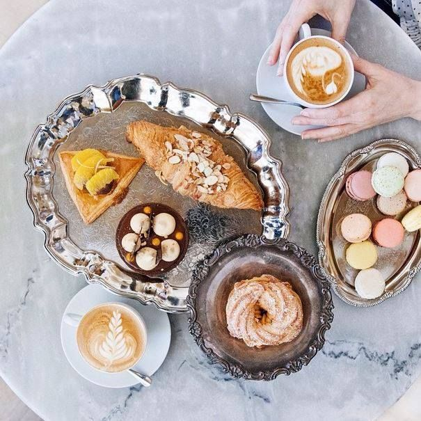 """""""Decadent start to our trip with this beautiful breakfast spread at Duchess Bake Shop. Their paris-brest is the best I've tasted outside of paris!"""" - Slice of Pai Photography"""