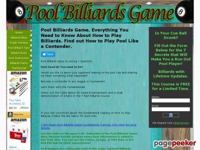 nice #8 Ball Winning Strategies. Learn to Play 8 Ball Pool Online.
