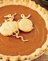 Classic Pumpkin Pie | To create a crisp crust on the bottom, Grace Parisi partially bakes the pie shell before adding the filling.