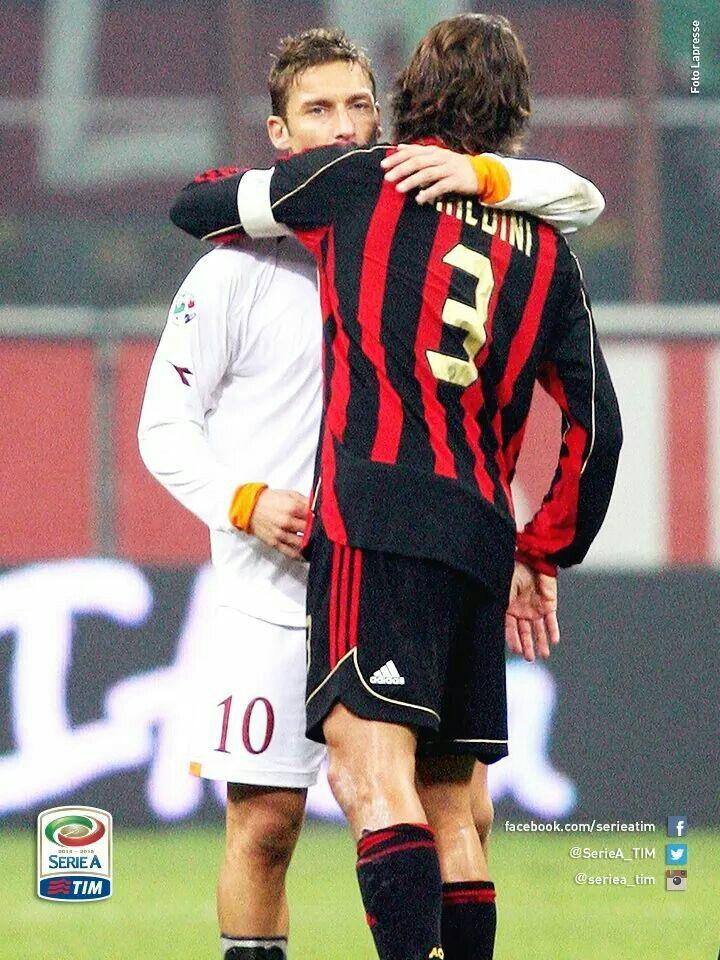 Paolo Maldini & Francesco Totti 2006/07