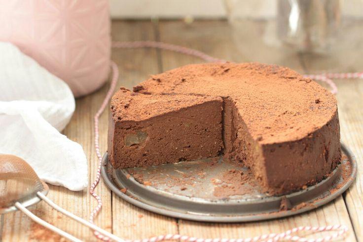 Fondant chocolat courge poire