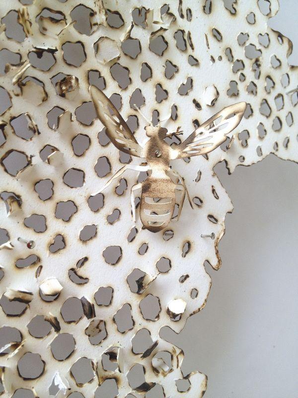 Bees – Extinction     Design Hope Toronto 2014 by Antonia Goga, via Behance