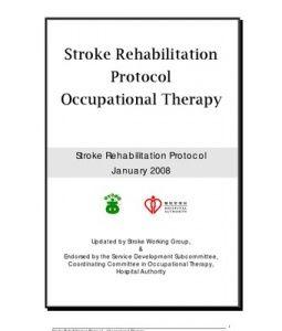 Ot Guidelines Stroke Rehab Protocol Final