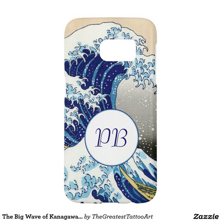 The Big Wave of Kanagawa Hokusai Katsushika art Samsung Galaxy S7 Case