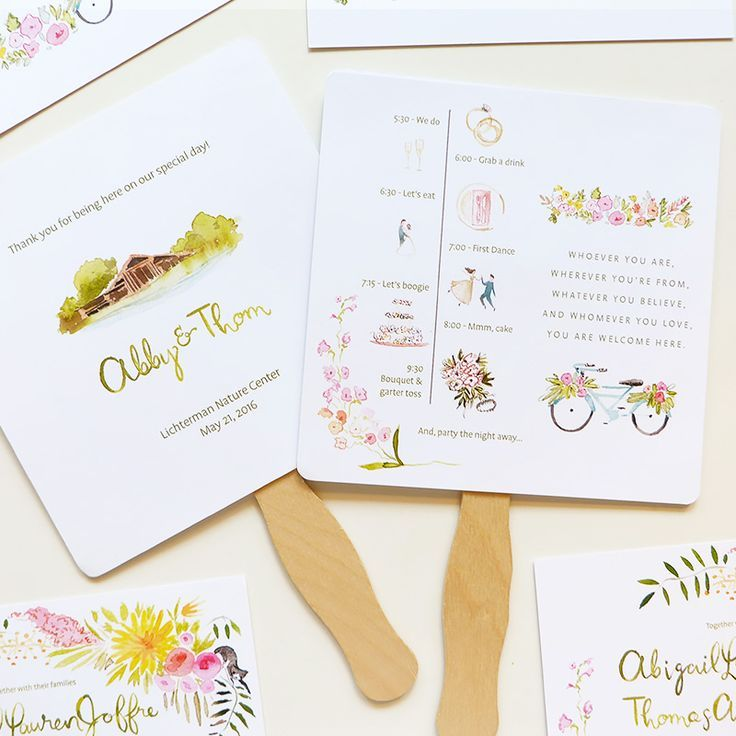 242 best wedding / menus, programs, reception stationery images on ...