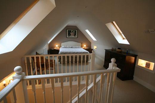love remodeled attics!
