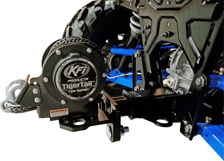"""#101100 KFI Tiger Tail and 2"""" Reciever Kit - KFI ATV Winch, Mounts and Accessories"""