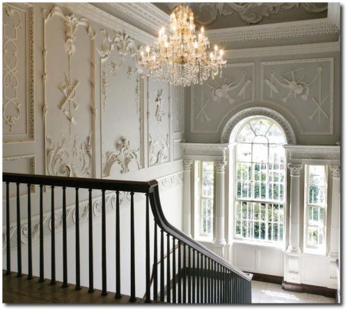 Contemporary Interiors Dublin: The Most Beautiful Baroque Plasterwork In Dublin Embellishment Molds, Interior Molds, Mold Swags