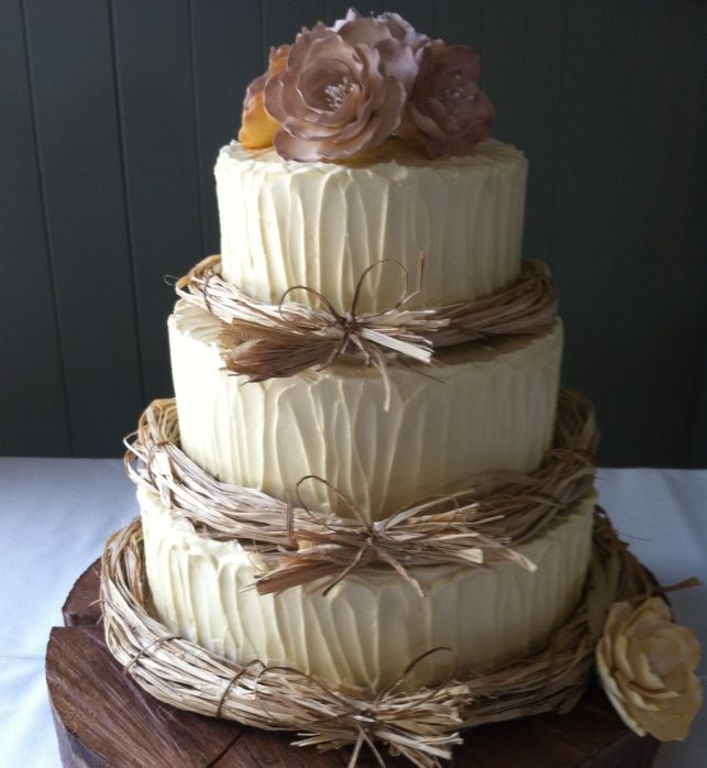 Rustic Wedding Cake Ideas: Rustic Wedding Cake, Country Wedding Cake