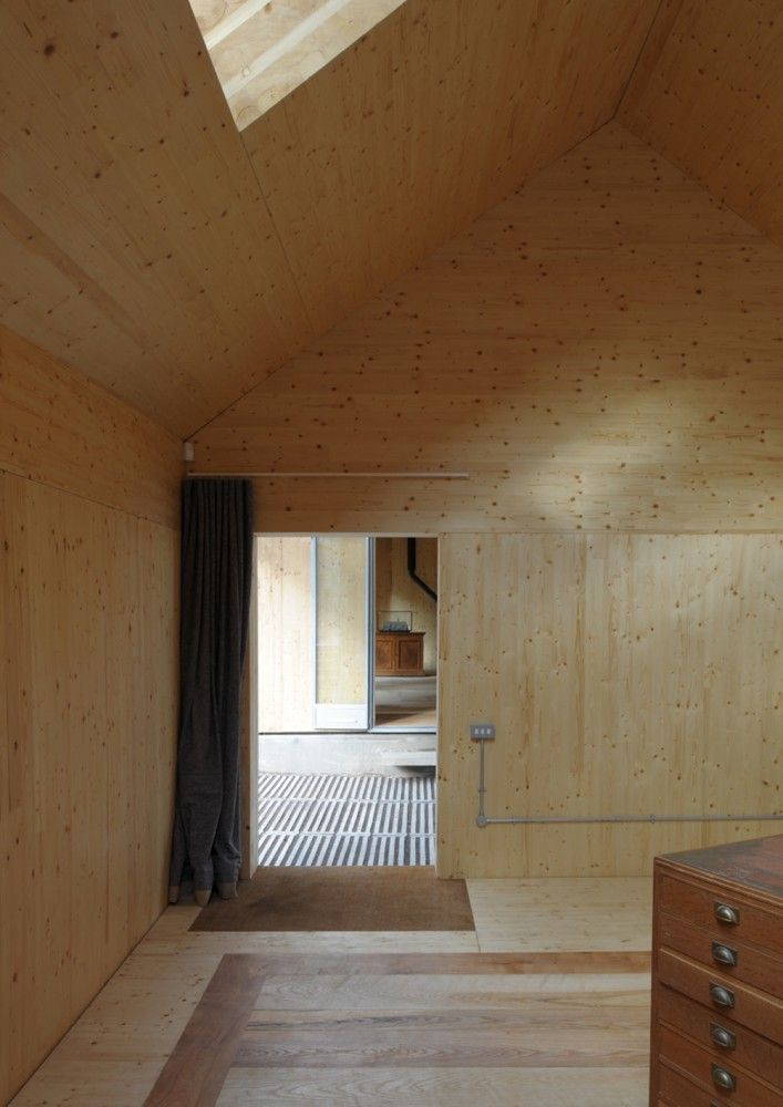 Architecture Archive by Hugh Strange Architects. Timber Engineers Eurban. CLT manufactured by Stora Enso Building and Living