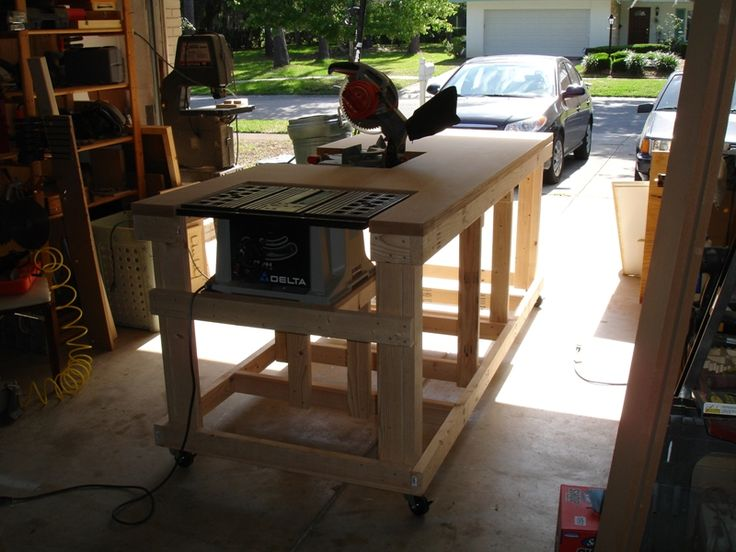Building your own wooden workbench backyard bench and for Outdoor workshop designs