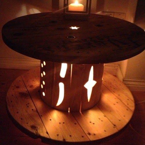 Ma maison au naturel: 20 manières de réutiliser une bobine en bois