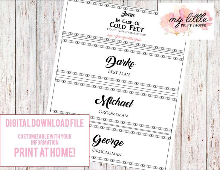 Wedding- Custom sock belly bands for groom and groomsmen!    https://www.etsy.com/ca/listing/459473462/wedding-gifts-for-groomsmen-sock-belly