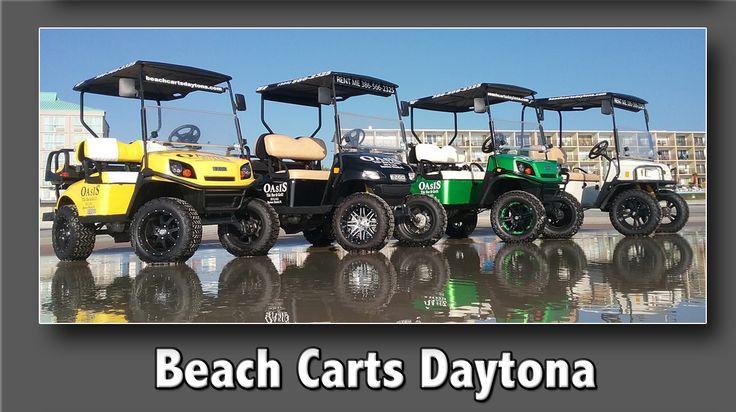 Beach carts daytona golf cart rentals in daytona beach