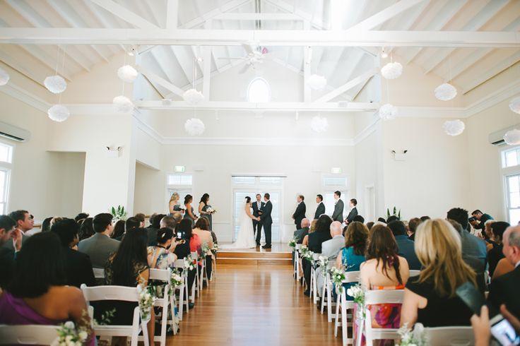 laura amp brett breakfast point community hall wedding