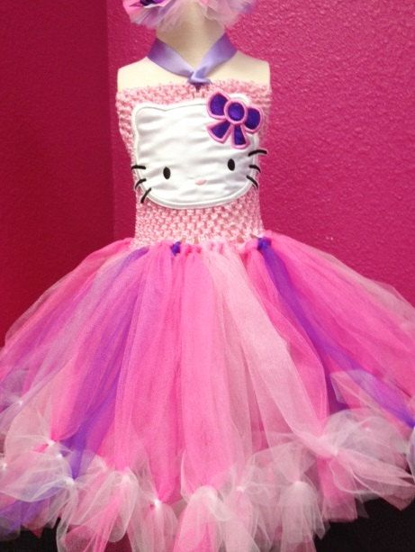 Hey, I found this really awesome Etsy listing at https://www.etsy.com/listing/191533914/hello-kitty-themed-tutu-dress-with