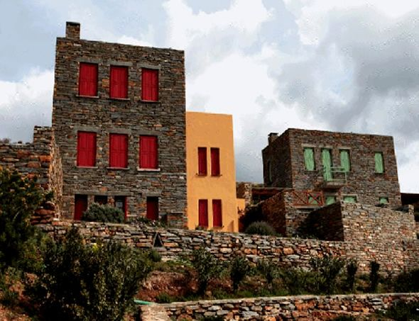 New Traditional Stone Homes Greece Dexithea Houses