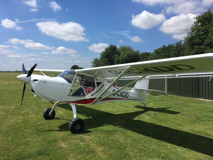 Eurofox Taildragger White (With images) Fighter jets