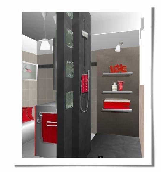 Salle de douche salle de bain pinterest - Salle de bain douche al italienne ...