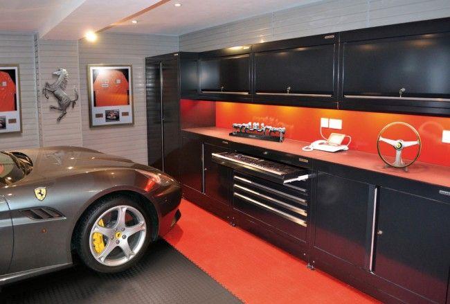 Покрытие пола гаража должно быть не только красивым, но и прочным