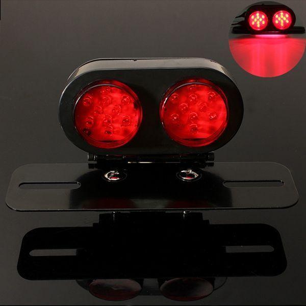 Motorrad 25 LED s Rücklicht Kennzeichenbeleuchtung … – Motocicleta -… – S …   – Schönes Motorrad