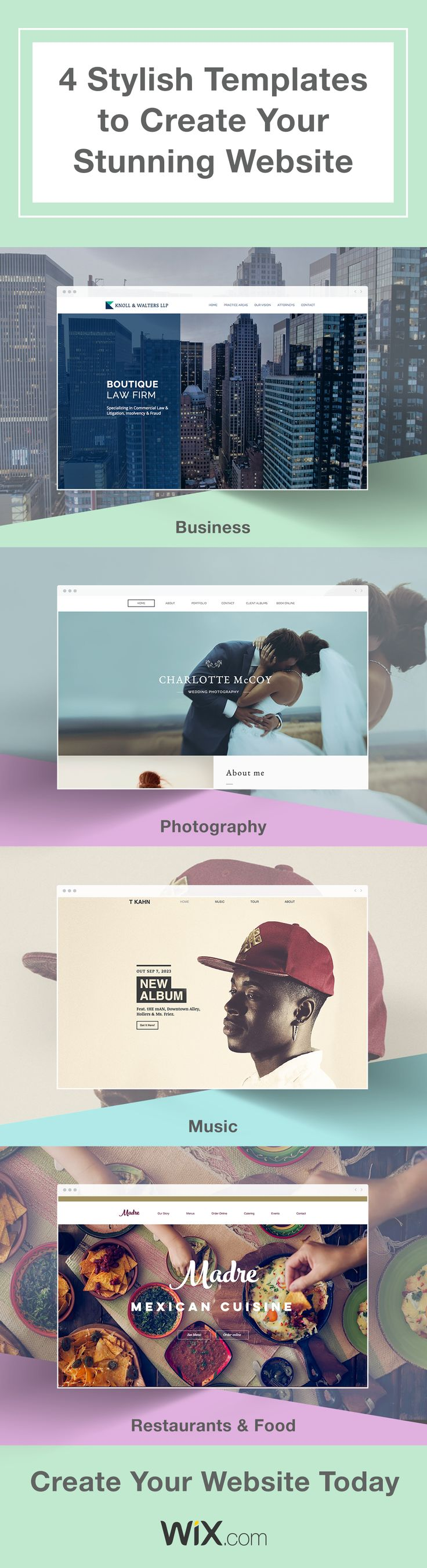 17 Best images about Wix Website Templates on Pinterest | Editor ...