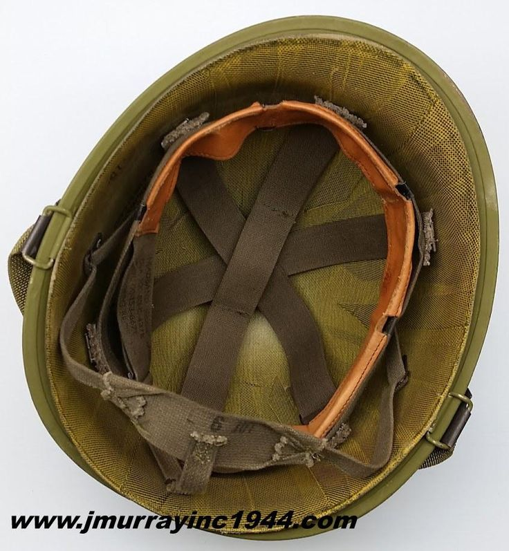 M1 Helmet - Grenada Era - Complete just need an A stencil and spray paint