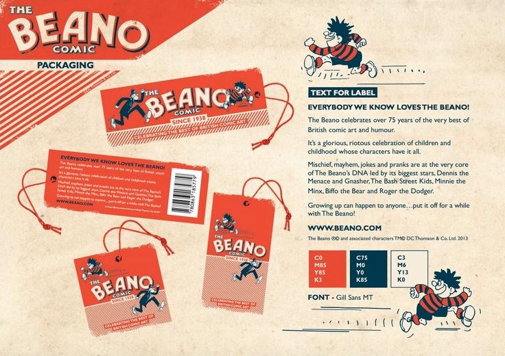 Beano Brand Guidelines Designed by Wayne Hemingway | imjustcreative