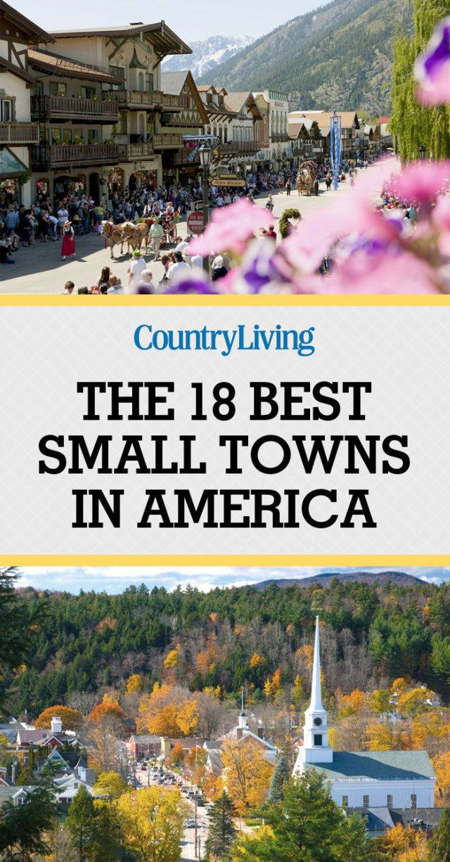 We recently asked our Facebook fans to share their picks for the cutest small towns in America, and more than 1,000 of you chimed in. Here are some of our favorite nominations, all with populations of under 13,000. (We know there are many more charming little towns out there that aren't included on this list—share your favorite small town in the comments below!)