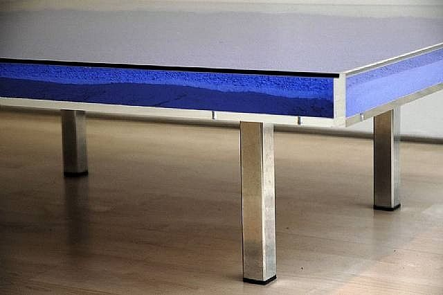Yves Klein Table Bleue Art Pinterest Artworks Yves Klein And Tables